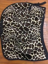 SADDLE PAD AP ENGLISH GIRAFFE PRINT BY EQUINE TEXTILES NWT
