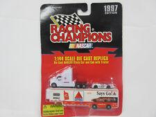 1997 Edition 1:144 Diecast Replica Nascar Stock Car and Cab Trailer #21