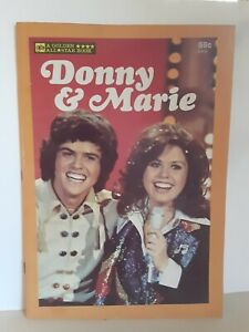 Donny & Marie A Golden All Star Book 1977 Osbro Productions Donny & Marie Osmond