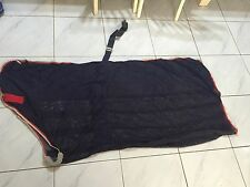 Weatherbeeta Scrim Cooler Standard Neck, 5'9, Navy/Red/White, Good Condition