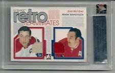 2005-06 ITG Ultimate Memorabilia GUJ Retro Teammates Beliveau/Mahovlich 17/25