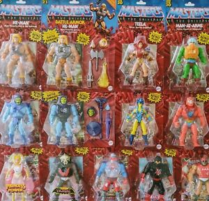 Choose your MOTU Origins Action Figure! Mattel 2020-21! NEW!!!