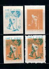 N.384-Vietnam-Prrof–President Ho Chi Minh planting tree-1981