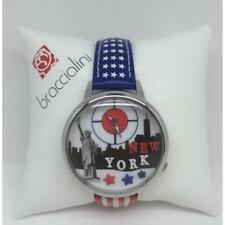 Orologio Braccialini New York Tua144/nar America Bandiera