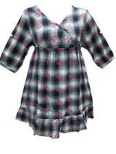 Robes bleus pour fille de 2 à 16 ans en 100% coton, 13 - 14 ans