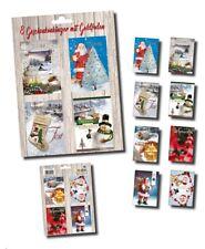 80 Weihnachtskärtchen Weihnachtsanhänger Geschenkanhänger 229050 TA