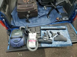 KENMORE Magic Blue Canister Vacuum Cleaner Model 721 Tested Working