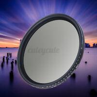 82mm Neutral Density Fader Filter ND2-400 ND Variable Adjuatable For DSLR  /
