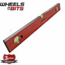 Spirit Level Ribbed 36 Inch (90cm) Aluminium Ruler Builders Milled Face P4465