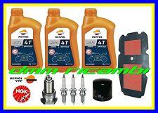 Kit Tagliando HONDA TRANSALP 650 02>03 Filtro Aria Olio REPSOL Candele 2002 2003