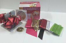 The Amazing Bowdabra Bow Maker! Includes free start up ribbon! Free UK Post!
