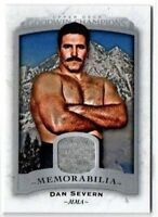 Dan Severn MMA Event Used Patch Relic - 2017 Upper Deck Goodwin Champions M-DS