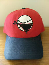QUAD CITY RIVER BANDITS - New Era adjustable hat (Red/Black) RARE - MADE IN USA