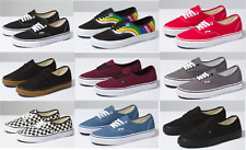 Vans CLASSIC Authentic Canvas Sneaker Shoes All Size NEW IN BOX ! Fast Shipping!