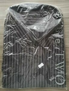 """New Double TWO Men's Full Sleeve XL 21"""" Collared Shirt GX2524/A"""