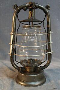 Feuerhand Nr. 223 DRGM German Kerosene Hot Blast Lantern Globe and Globe Guard