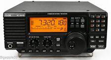 Icom IC-R75 Shortwave Radio Receiver w/ UT-106 Opt DSP Module & Sync Detector