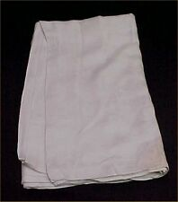 """Vintage Linen Tablecloth Woven Damask Floral 70x70"""" White Irish Clovers Cutter"""