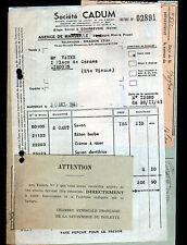 """MARSEILLE / COURBEVOIE (13 / 92) USINE / SAVONNERIE SAVON """"Société CADUM"""" en1941"""