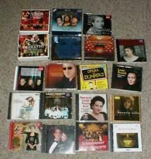 Lot-19 MIXED OPERA CD's Albums Maria Callas Placido Domingo Pavarotti Verdi Box