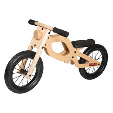 Moto/Bicicleta sin pedales de madera para niños 2 - 5 años sillín regulable