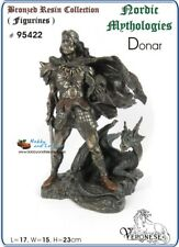 Donar/Thor Viking/Norse God, Father Odin,Bronzed Figurine, Veronese - 95422