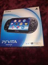 New listing Sony PlayStation Vita Crystal Black Handheld System