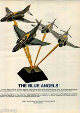1971 ADVERT 5 PG Revell Model Toy US Army Tank Truck Howitzer Blue Angels Planes