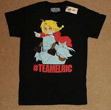 Fullmetal Alchemist TeamElric Juniors Shirt XS NWT Officially Licensed