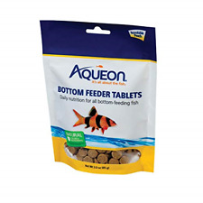 Aqueon Bottom Feeder Fish Food Tablets, 3-Ounce Pouch