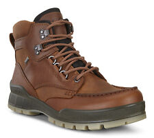 ECCO Men's Track 25 Mid GTX GORE TEX Waterproof Brown Leather Hiking Boots