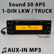 Mercedes Sound 30 APS AUX-IN MP3 LKW Navigationssystem Truck Radio Navigation