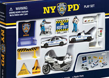 NYPD New York Police Department Spielzeug Set Kinder 13 Teile Polizei RT8620