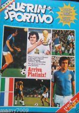 GUERIN SPORTIVO=N°5 1978=INSERTO MONDIALI 78+COPERTINA PER RILEGARE I FASCICOLI