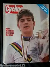 CYCLING - HOW MARSHALL MASTERED THE MUD - FEB 6 1986