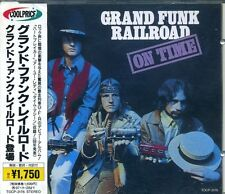 GRAND FUNK RAILROAD On Time (1969) Japan CD OBI TOCP-3176