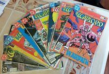 The Warlord (DC) 10 Comics #30 46 47 48 57 70 71 74 77 132 *VF* 1980's