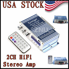 Hot sale 12V 200W Power HiFi AMP Stereo Amplifier Audio For MP3 iPod CD/DVD AUX