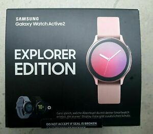 Samsung Galaxy Watch Active 2 Explorer Edition Aqua Black 40mm Bluetooth BNIB