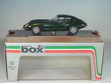Model Box 1/43 Nr. 8440 Jaguar E-Type Coupe British Racing Green OVP #2886