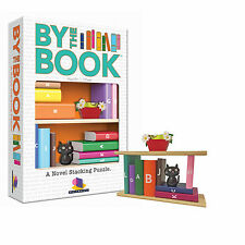 BY THE BOOK - A NOVEL STACKING PUZZLE W/ 40 CHALLENGES KIDS BRAINWRIGHT GAMES