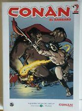 Conan 2. Grandes Heroes del Comic. Biblioteca el Mundo. Comic