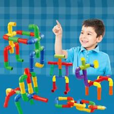 DIY Building Blocks Toy Kids Tunnel Model Toy Educational Enlighten Puzzles N7