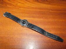 POUR PIECES vintage Watch ancien MONTRE uhr à REMONTER 201 fond acier inoxydable