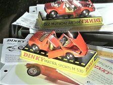 MATRA 530 1967/73 : DINKY TOYS REEDITION ATLAS (ORANGE)