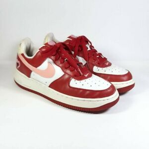 """Nike 2004-05 WMNS Air Force 1  """"V-Day Valentines Day"""" 307109-164 Size 7 W"""