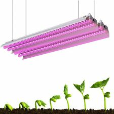 2000W Plant Led Grow Light 2Ft T5 Full Spectrum Indoor Veg Flower Tube Lamp 2pcs