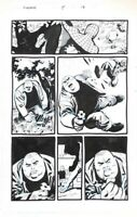KINGPIN ORIGINAL COMIC ART PAGE Spider-Man Sean Phillips Klaus Janson