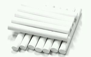 12 PCS CHALKS WHITE STICKS IDEAL FOR SCHOOL OFFICES OR HOME USE BLACK BOARDS