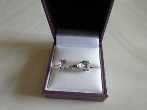 Swarovski Crystal Elements Heart earrings